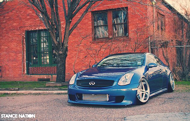 Widebody G35 Stanced & Fitted