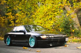 Slammed & Fitted Nissan Silvia S13