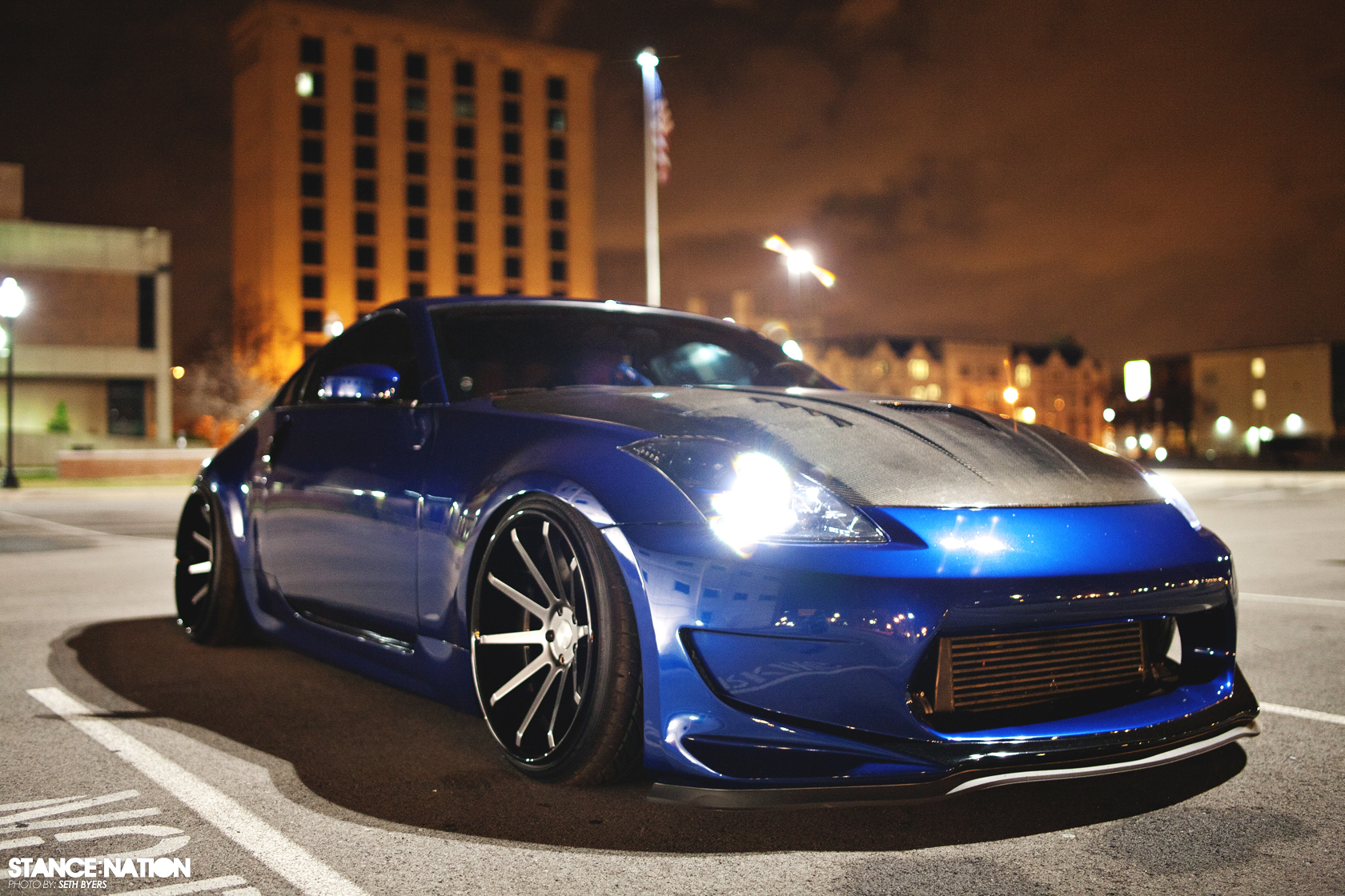 Nessen Forged // Turbo Nissan 350Z | StanceNation™ // Form > Function