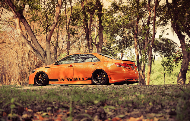 Flush fitment Thailand Camry job Design