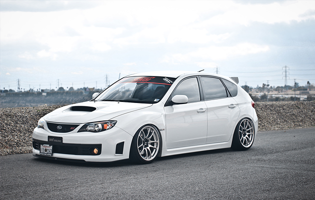 Slammed & Fitted Subaru STI
