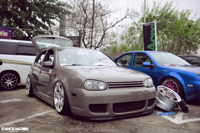 Aggressive Fitment China Stanced Car Event (13)