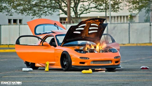 Slammed & Stanced Flush fitment Mazda RX7 (10)
