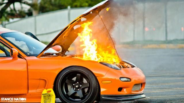 Slammed & Stanced Flush fitment Mazda RX7 (9)