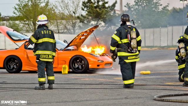 Slammed & Stanced Flush fitment Mazda RX7 (8)