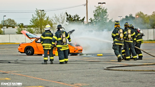 Slammed & Stanced Flush fitment Mazda RX7 (7)