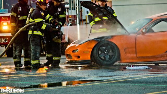 Slammed & Stanced Flush fitment Mazda RX7 (3)