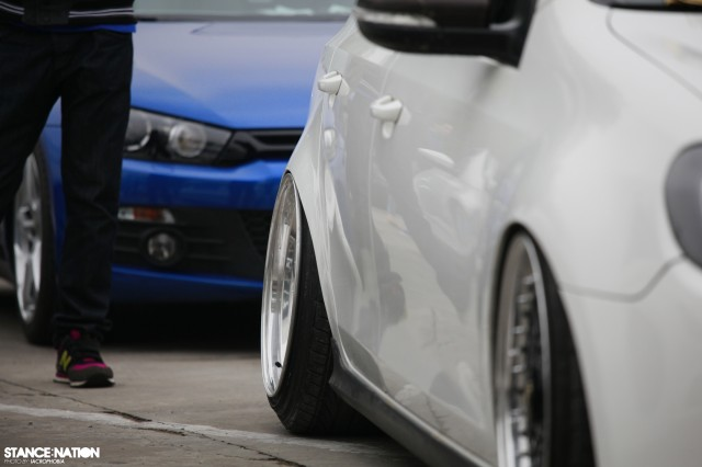 Aggressive Fitment China Stanced Car Event (15)