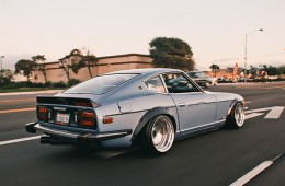 Slammed & Fitted Flush Nissan 240Z