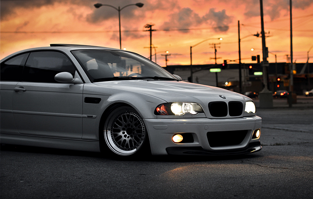 Aggressively Fitted & Stanced BMW M3 E46 (2)