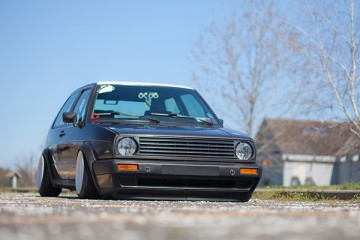 Slammed & Stanced VW Golf Flush fitment (2)