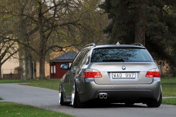 Stanced & Fitted BMW 5 Series E61 (4)