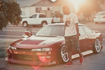 Stanced & Aggressively fitted Nissan 240SX S14 (2)