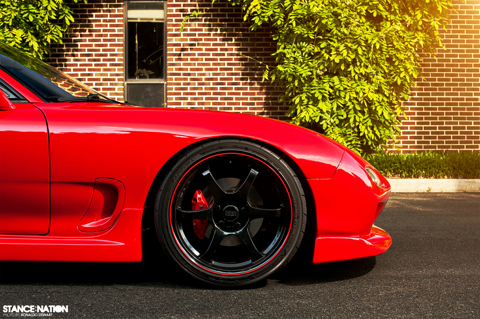 Stoptech Brake Pads >> Form + Function // 454RWHP Mazda RX7 | StanceNation™ // Form > Function