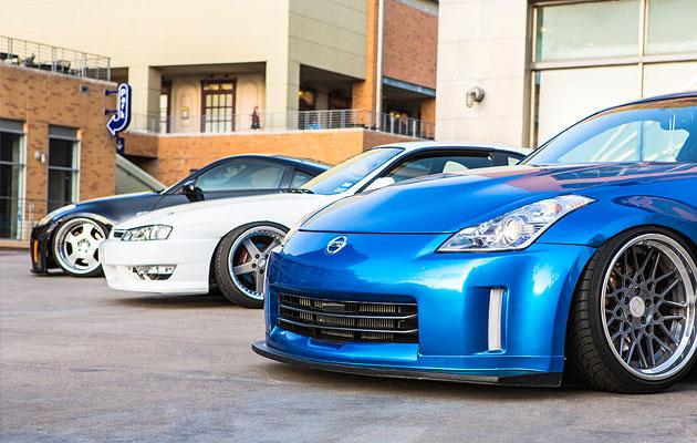 Texas Trio Nissan 240sx Nissan 350Z (5)