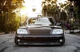 Slammed VIP Style Lexus LS400 UCF21 (1)