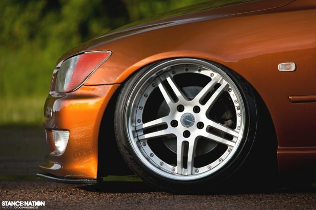 Slammed & Fitted Lexus IS (11)
