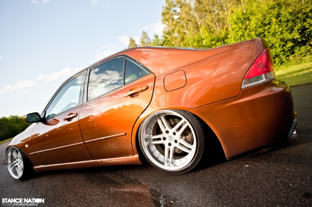Slammed & Fitted Lexus IS (7)