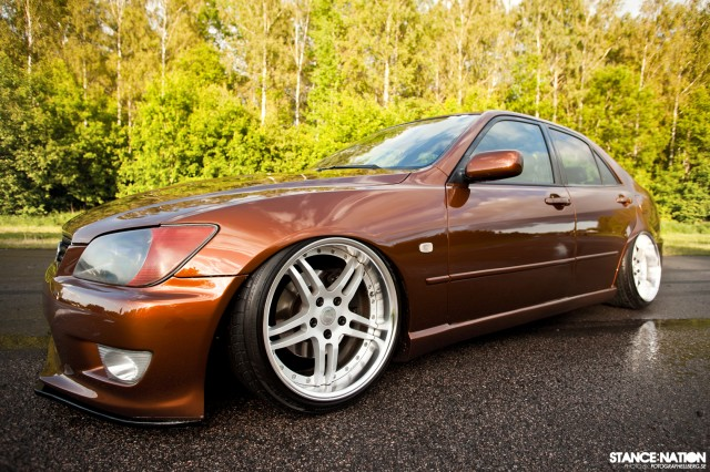 Slammed & Fitted Lexus IS (6)