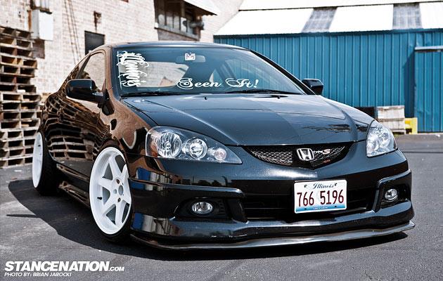 Slammed & Stanced Acura RSX (1)