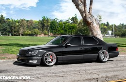 VIP Slammed Lexus LS400 UCF21 (1)