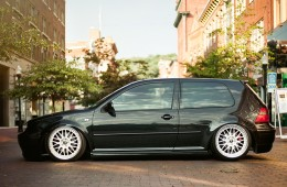 Aggressive Fitment VW Golf GTI (2)