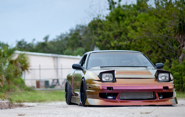 Drift & Fitted Nissan 240SX (2)