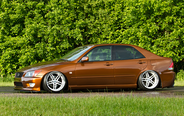 Slammed & Fitted Lexus IS (4)