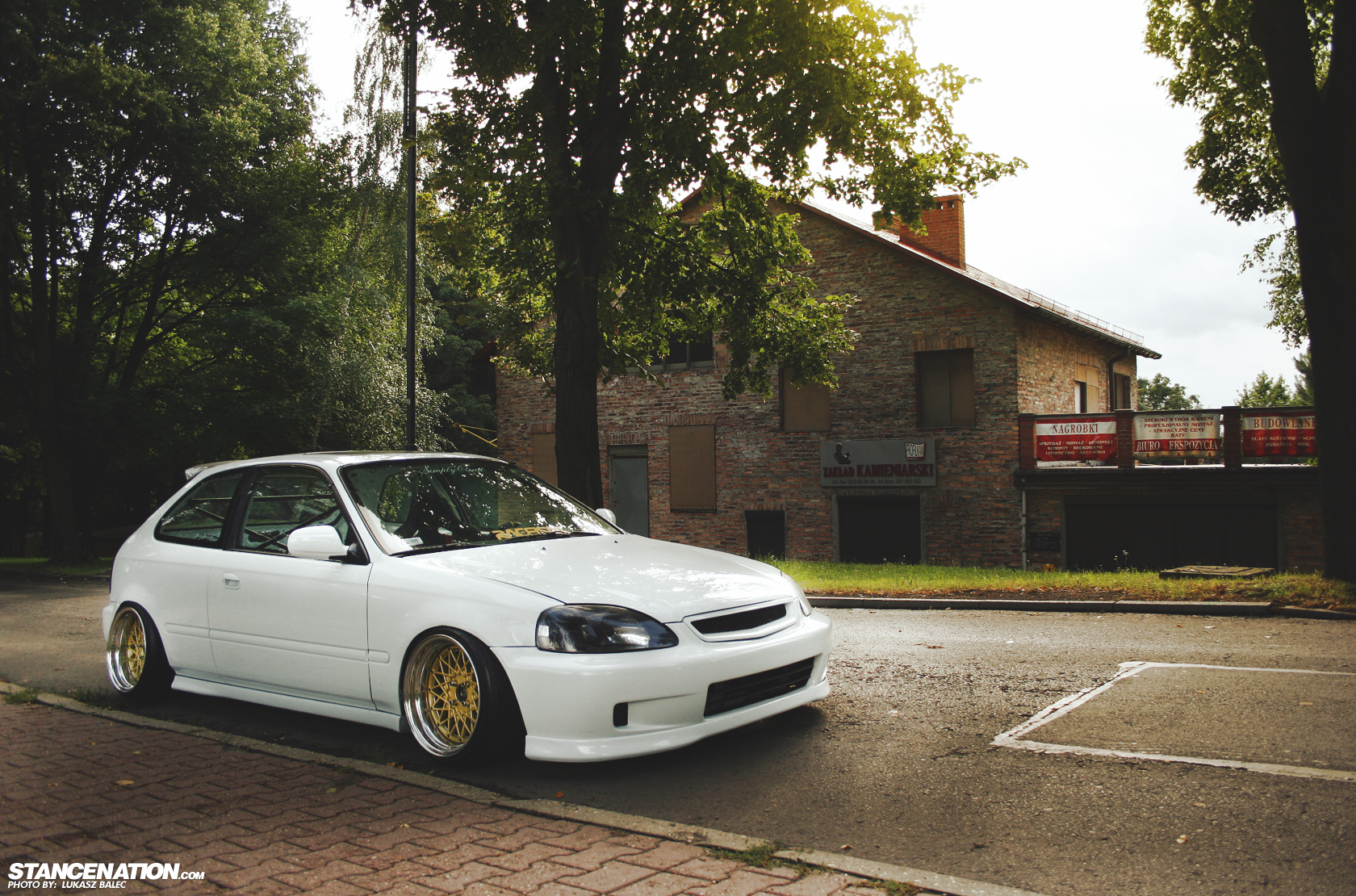 stanced white honda civic ek images amp pictures   becuo