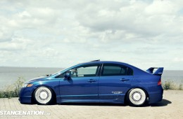 Slammed & Fitted Honda Civic (3)