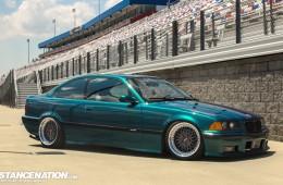 Slammed & Fitted BMW E36 (1)