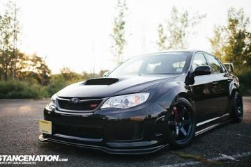 Aggressive Fitment Subaru STI (1)