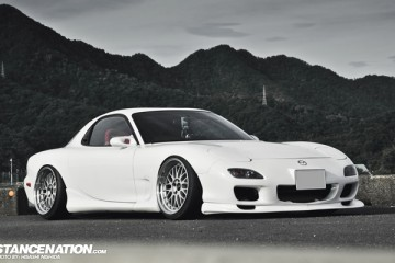 Stanced & Fitted Mazda RX7 FD3S (1)