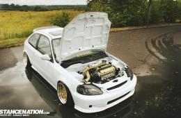 Honda Civic Stanced Hatchback (1)