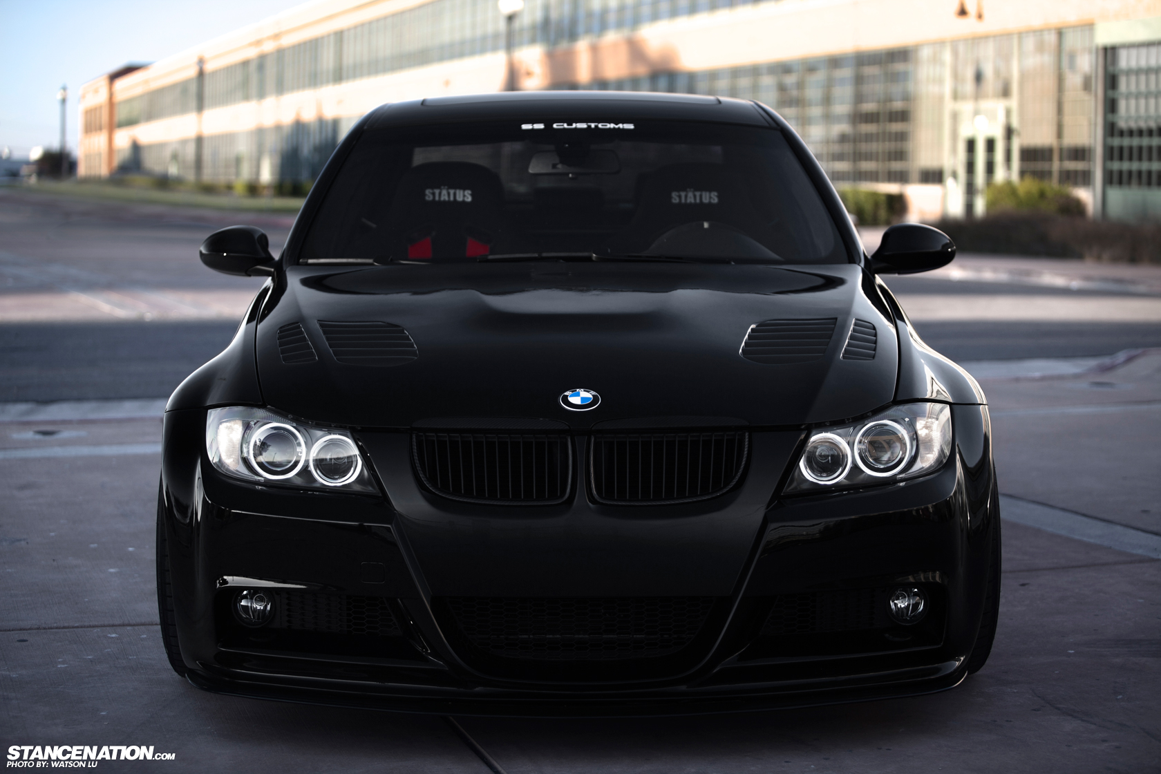 Black Magic // Lance's Wide BMW E90. | StanceNation ...