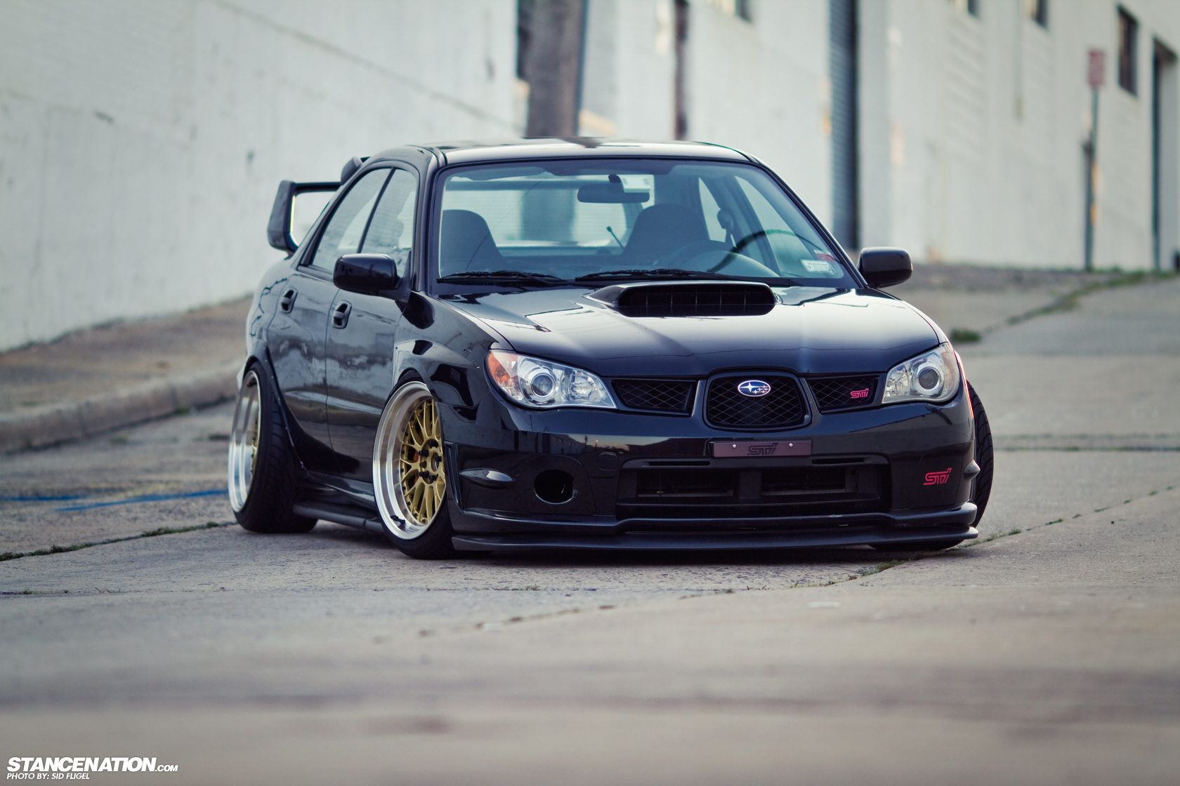 Low Amp Loud Vic S Slammed Subaru Sti Stancenation Form Gt Function