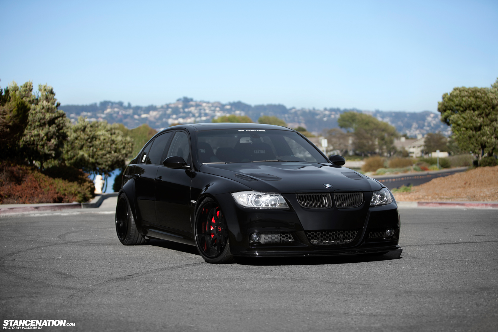 Black Magic Lance S Wide Bmw E90 Stancenation