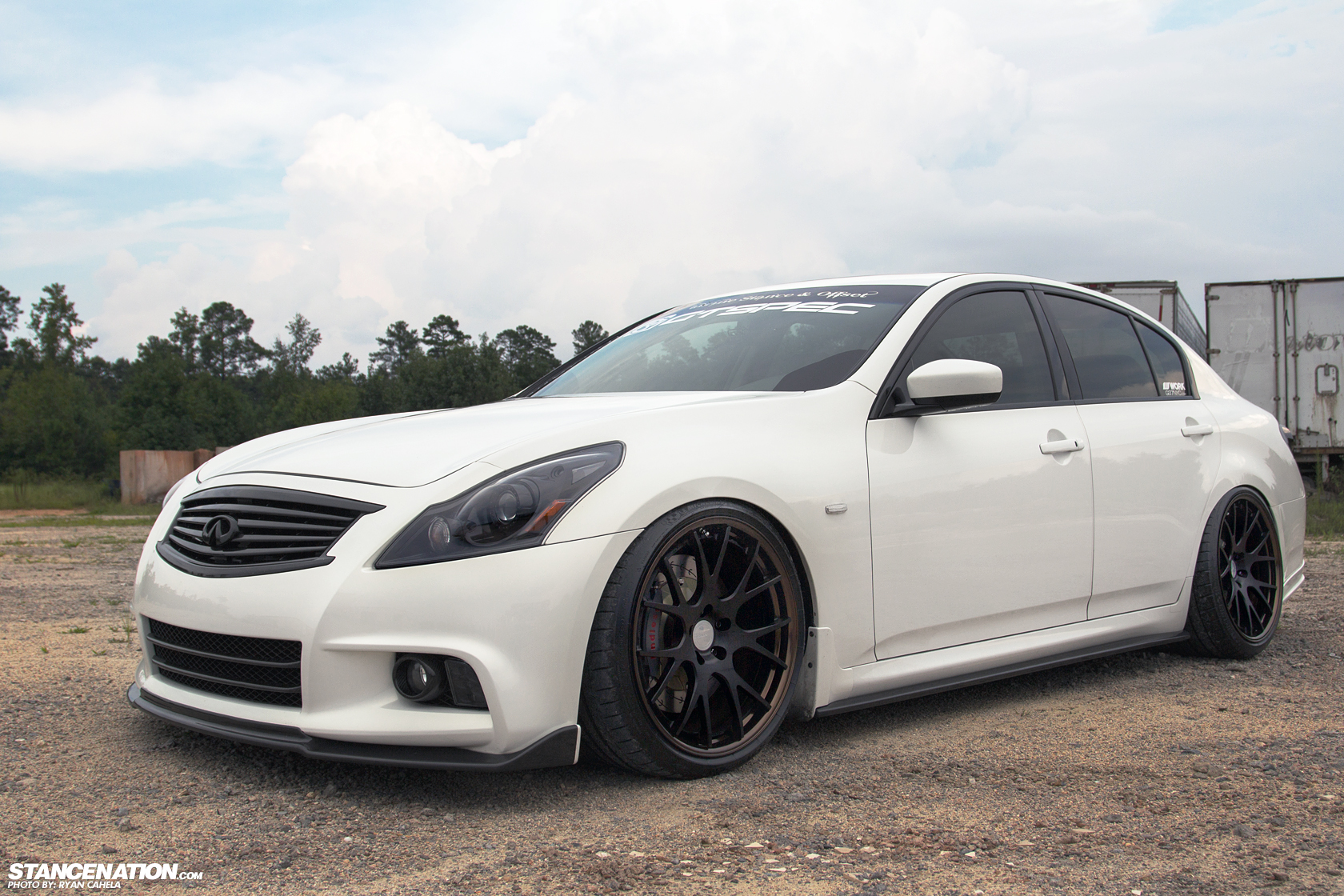 Meet Layla Christopher S 600 Hp Infiniti G37 Sedan Stancenation Form Function
