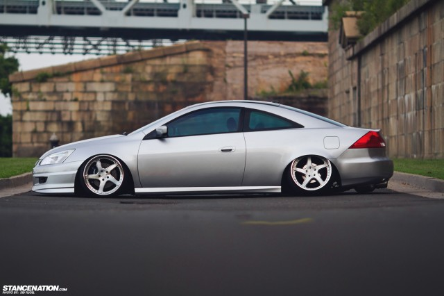 Like No Other Jamin S Slammed Accord Coupe