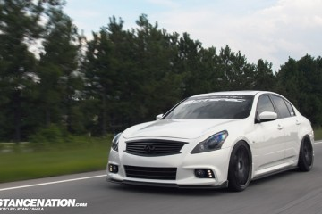Slammed Turbo Infiniti G37 Sedan (1)