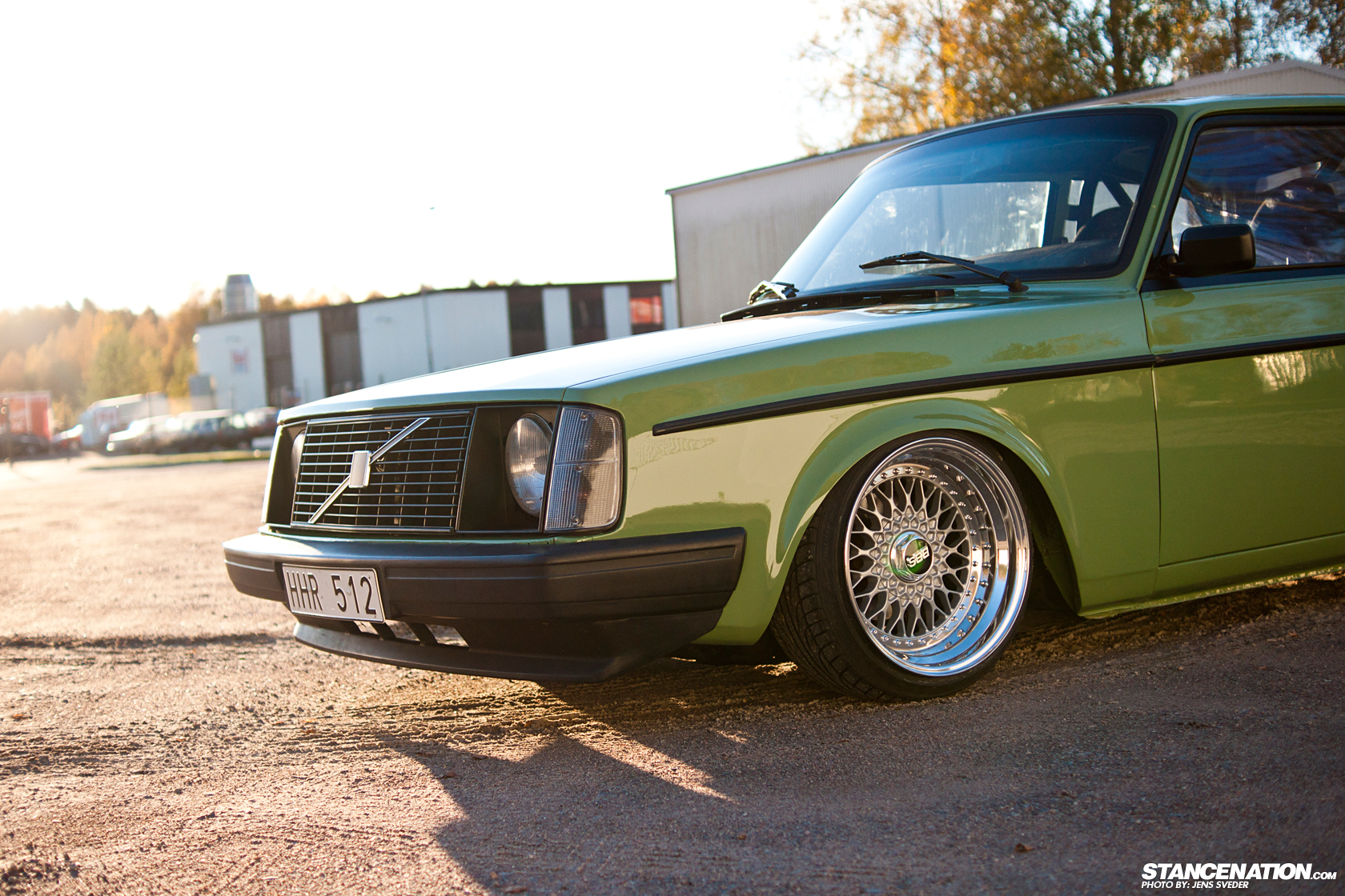 They Get Better With Age Patrik Lindgren S Volvo 242