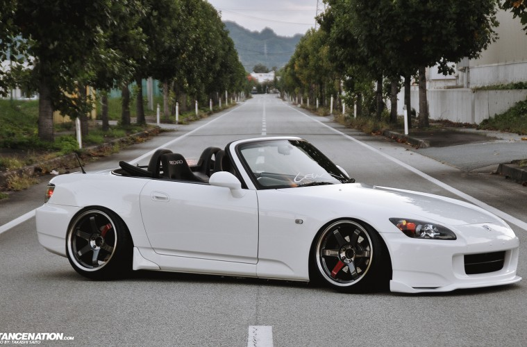Slammed Flush Honda S2000 Japan (8)