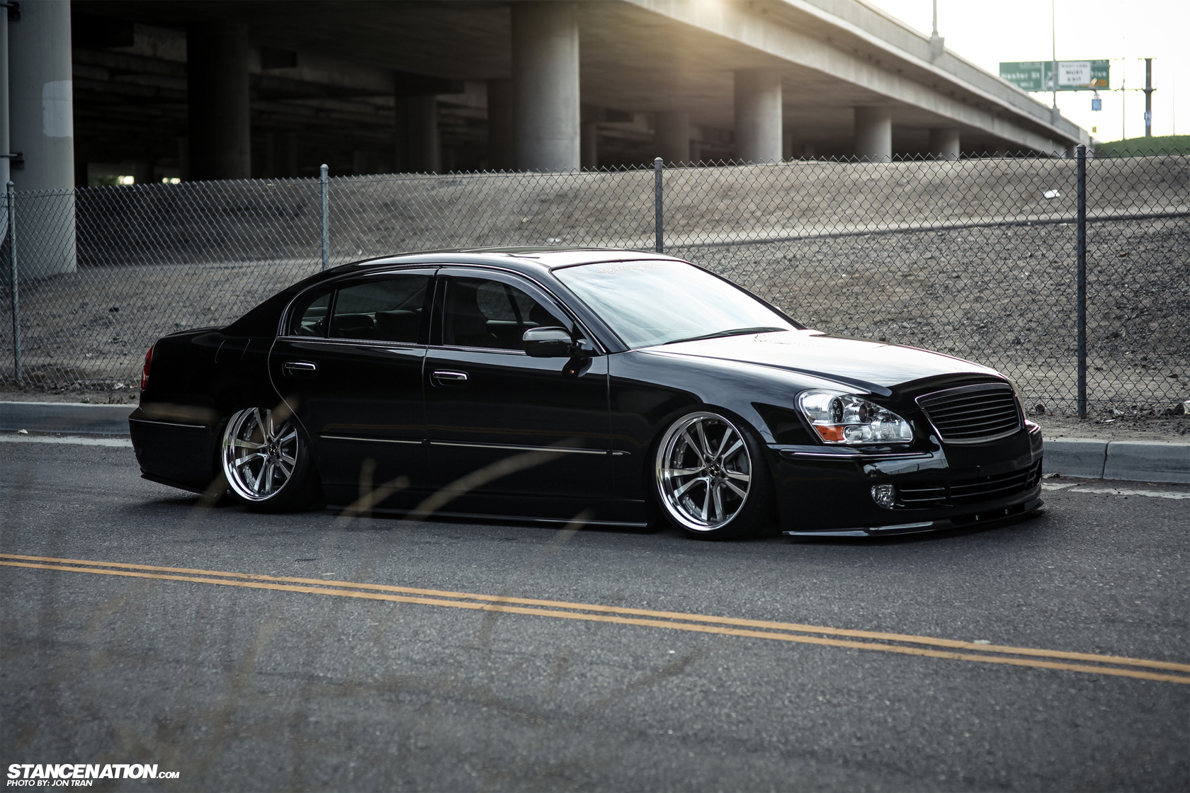 Classy Does It Matthew S Slammed Infiniti Q45