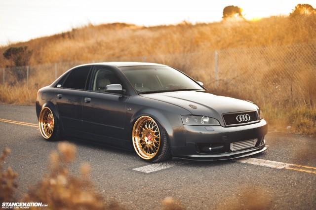 Gold Status Josh S Fitted Audi A4 Stancenation