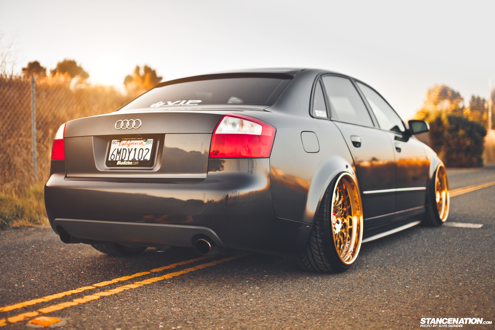 Gold Status // Josh's Fitted Audi A4. | StanceNation™ // Form > Function
