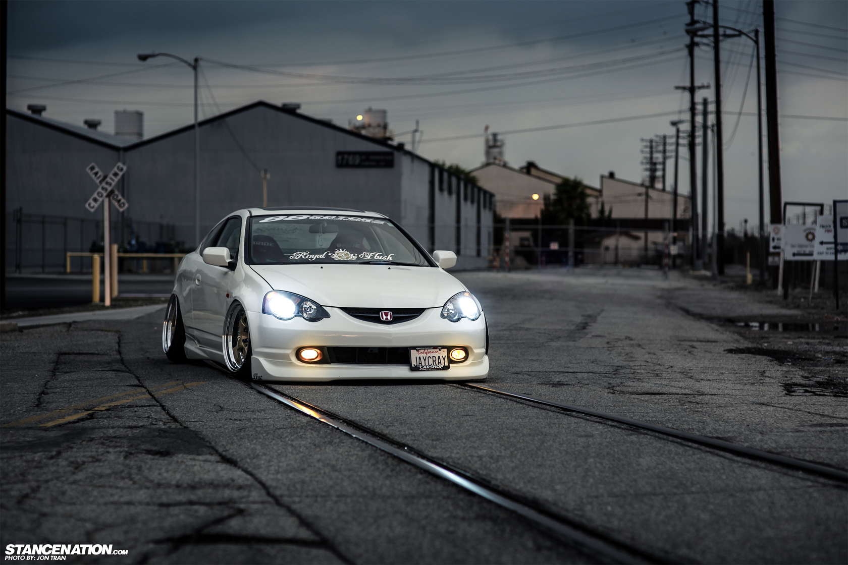 Dumped Amp Fitted Jerald S Bagged Acura Rsx