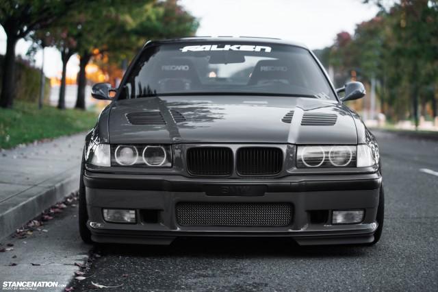 Stanced Flush BMW 3 Series (12)