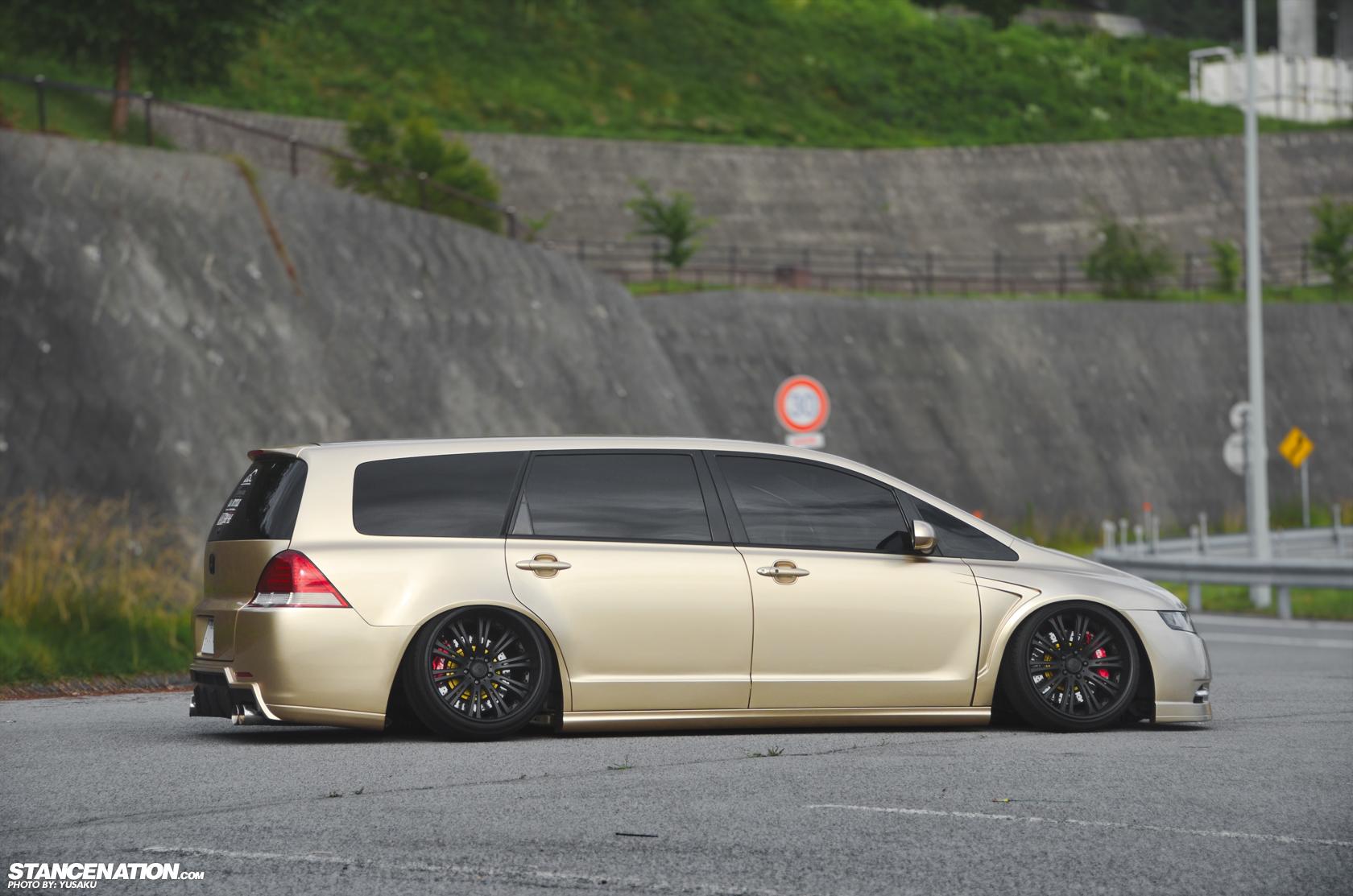 Stance VIP Style Honda Odyssey Japan 10