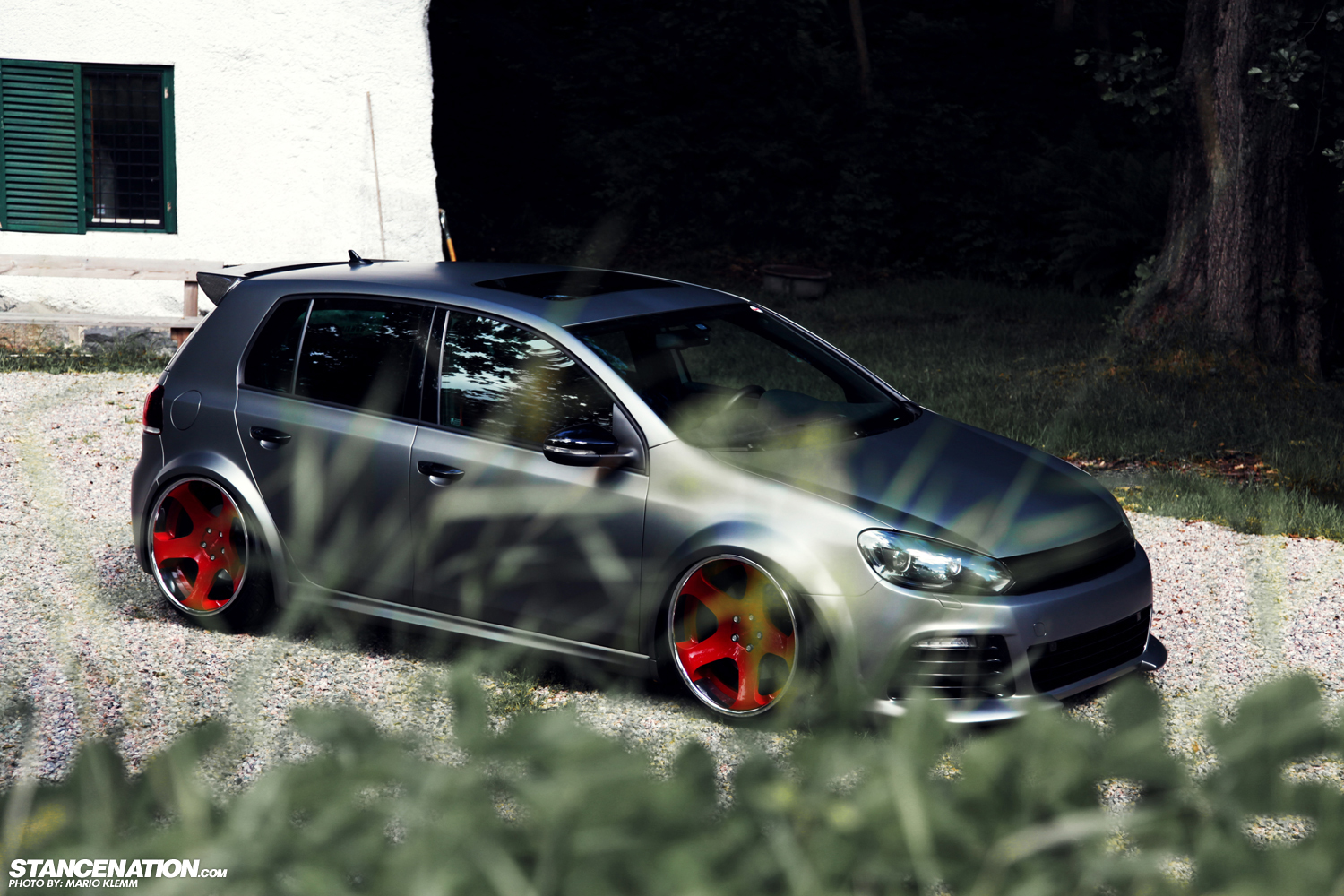 Stanced Volkwagen Golf Gti 15