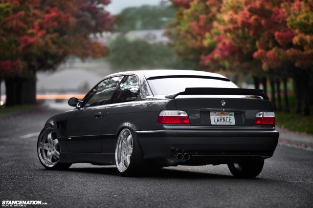 Stanced Flush BMW 3 Series (7)
